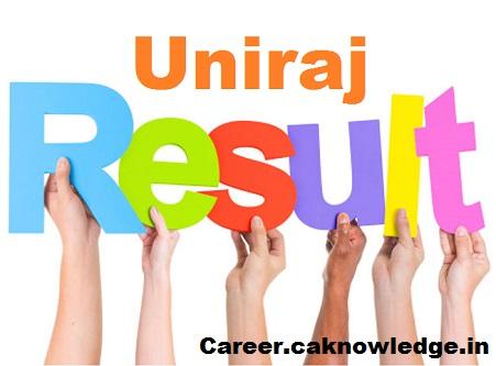 Uniraj Result 2019, result.uniraj.ac.in, Rajasthan University Results 2019