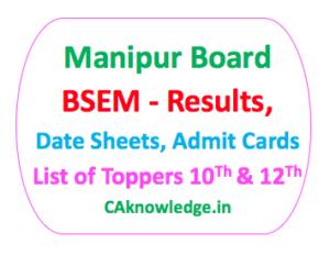 Manipur Board BSEM