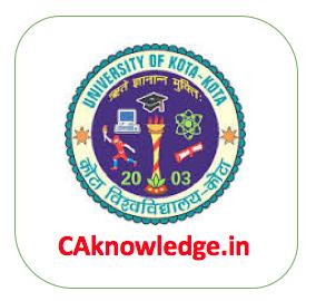 UOK University of Kota CAknowledge