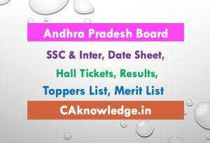 Andhra Pradesh AP Board Inter SSC