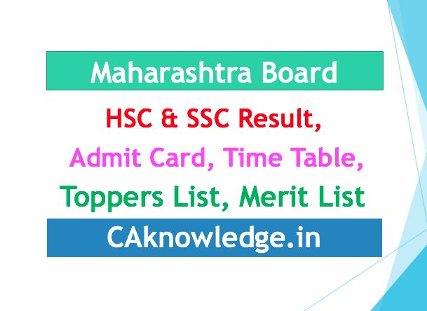 Maharashtra Board SSC, HSC