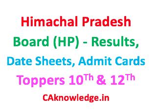 Himachal Pradesh Board HPBOSE