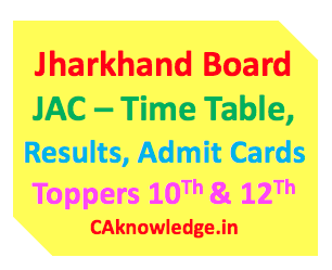 Jharkhand JAC Board