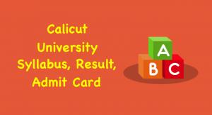 Calicut University