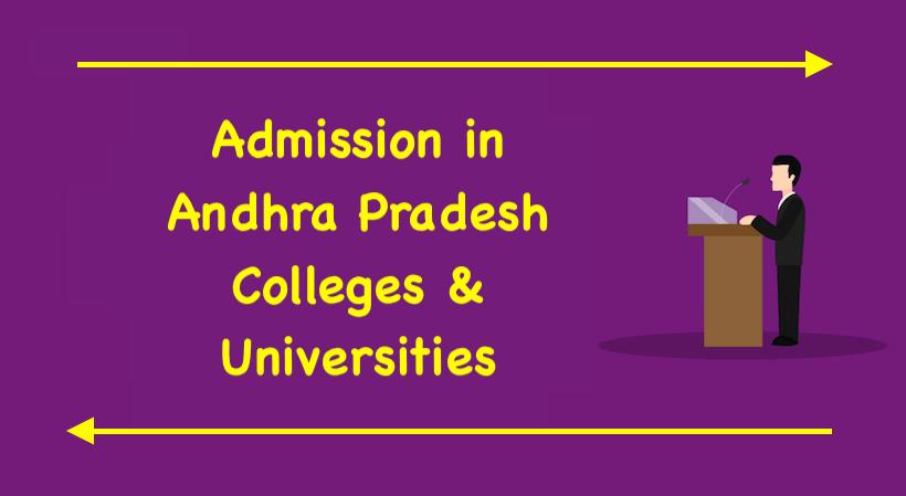 Admission in Andhra Pradesh Colleges