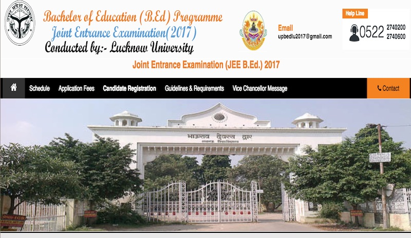 UP-B.Ed_ Online Application Form For Up B Ed on