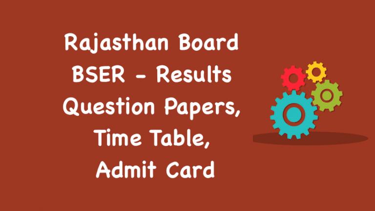 Rajasthan Board